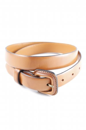 Marc O'Polo Leather Belt cognac-coloured casual look
