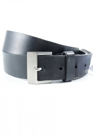 Marc O'Polo Leather Belt black casual look