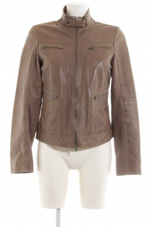 premium selection 6209b 897c5 Marc O'Polo Leather Jacket bronze-colored casual look
