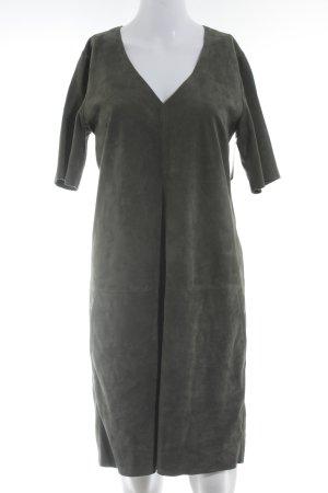 Marc O'Polo Leather Dress khaki