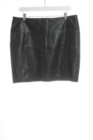 Marc O'Polo Leather Skirt black elegant