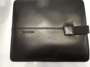 Marc O'Polo Writing Case black leather