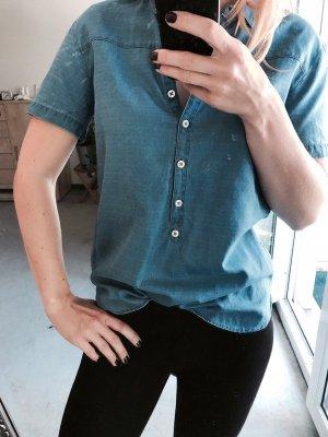 Marc O' Polo leichte Jeansbluse - wie NEU