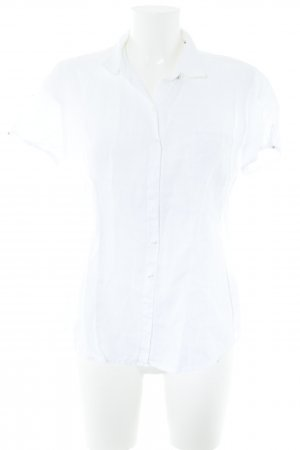 Marc O'Polo Blouse en lin blanc style d'affaires