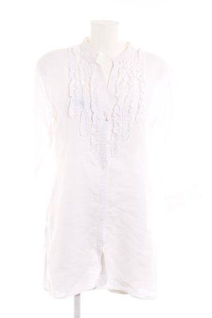 Marc O'Polo Blouse en lin blanc élégant