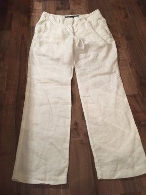 Marc O'Polo Pantalone di lino bianco