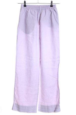 Marc O'Polo Pantalón de lino lila look casual