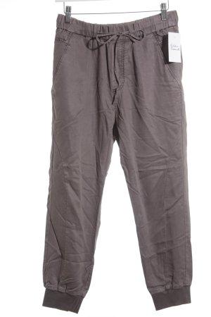 Marc O'Polo Pantalón de lino violeta grisáceo-lila grisáceo look casual