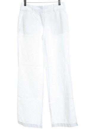 Marc O'Polo Pantalone di lino bianco stile casual