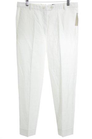 Marc O'Polo Pantalón de lino blanco puro look casual