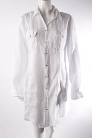 Marc O'Polo Leinenkleid weiß