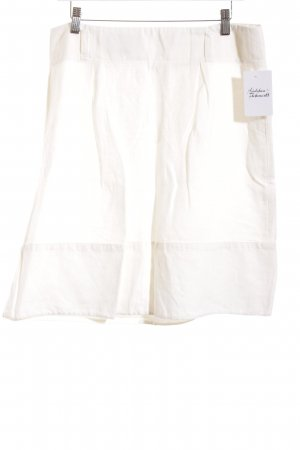Marc O'Polo Jupe en lin blanc style classique