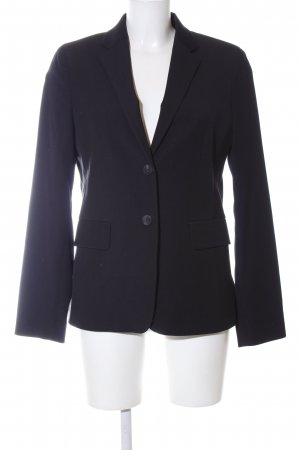 Marc O'Polo Long-Blazer schwarz Business-Look