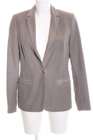 Marc O'Polo Long-Blazer hellgrau Casual-Look