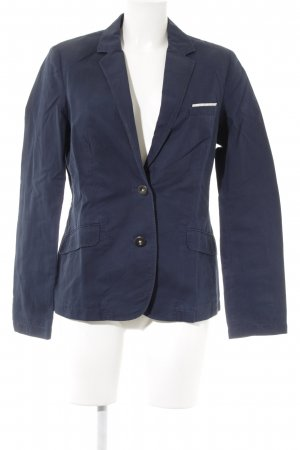Marc O'Polo Long-Blazer dunkelblau Business-Look