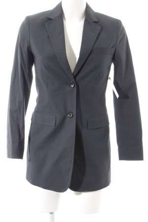 Marc O'Polo Long-Blazer dunkelblau Nadelstreifen Business-Look