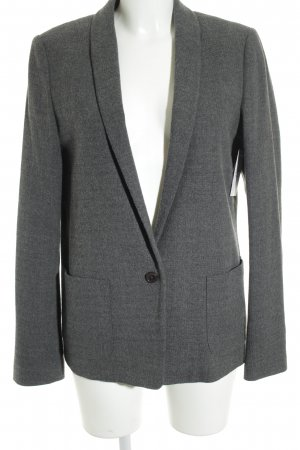 Marc O'Polo Long-Blazer dunkelgrau-grau Business-Look