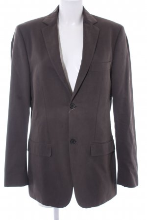 Marc O'Polo Long-Blazer graubraun Business-Look