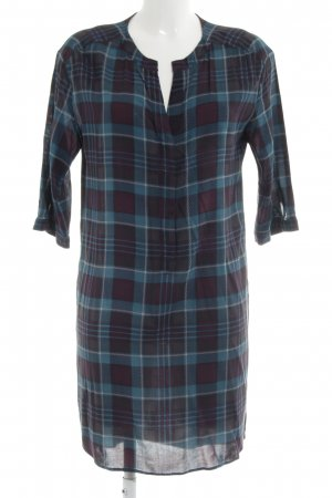 Marc O'Polo Shirtwaist dress blue-black check pattern casual look