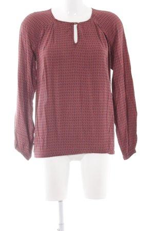 Marc O'Polo Long-Bluse abstraktes Muster extravaganter Stil
