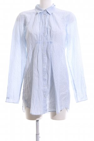 Marc O'Polo Long-Bluse weiß-blau Streifenmuster Business-Look