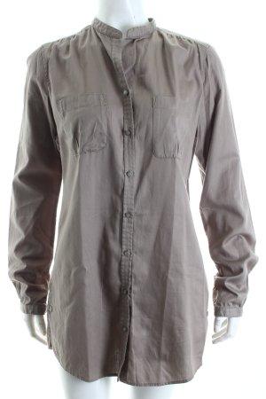 Marc O'Polo Long-Bluse grau schlichter Stil