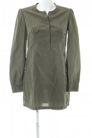 Marc O'Polo Long-Bluse khaki Casual-Look