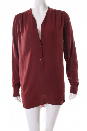 Marc O'Polo Long-Bluse rostrot