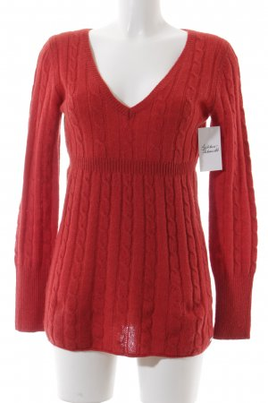Marc O'Polo Longpullover rot Casual-Look