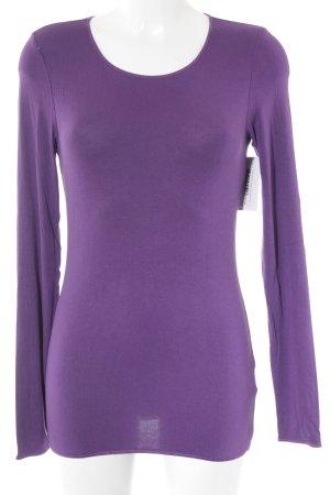Marc O'Polo Longshirt lila Casual-Look
