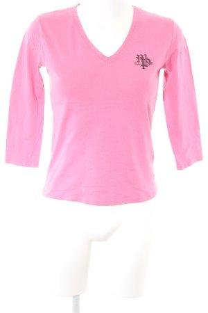 Marc O'Polo Longshirt pink klassischer Stil