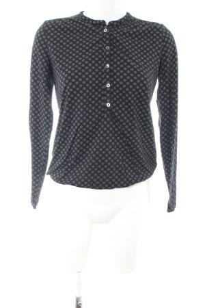 Marc O'Polo Longsleeve black-light grey allover print casual look