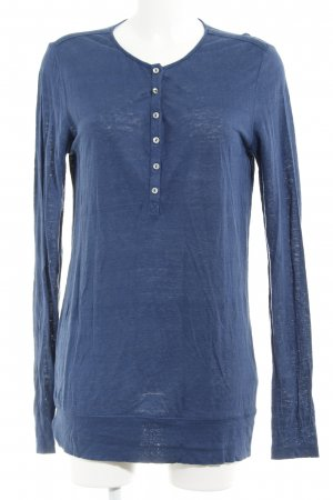 Marc O'Polo Longsleeve blau Casual-Look