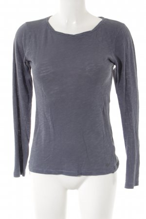 Marc O'Polo Longsleeve graublau Casual-Look