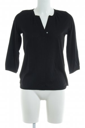Marc O'Polo Longsleeve schwarz Business-Look