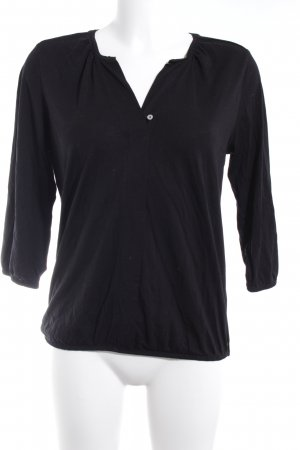 Marc O'Polo Longsleeve schwarz Casual-Look