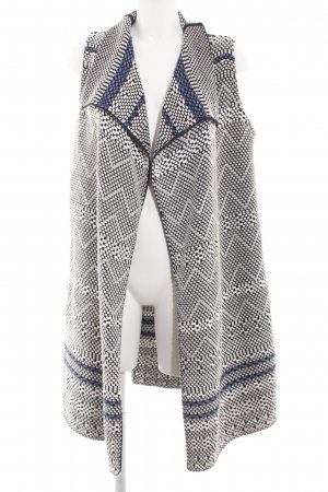 Marc O'Polo Long Knitted Vest graphic pattern casual look
