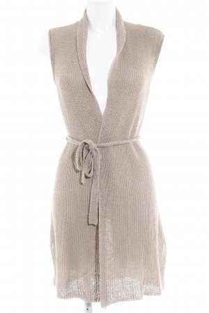 Marc O'Polo Longstrickweste beige Casual-Look