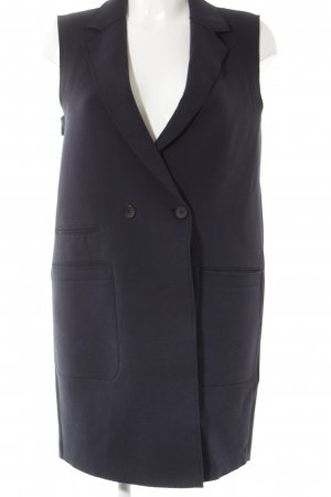 Marc O'Polo Long Knitted Vest dark blue casual look