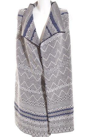 Marc O'Polo Long Knitted Vest weave pattern Boho look