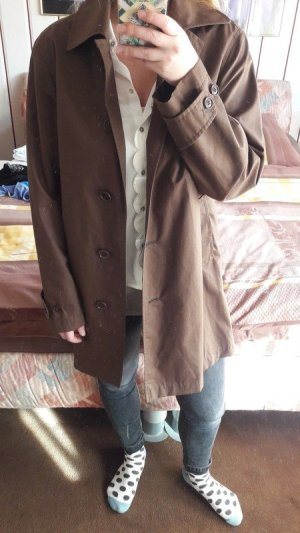 Marc o Polo Mantel Übergang Gr 38 braun Trenchcoat oversize blogger insta