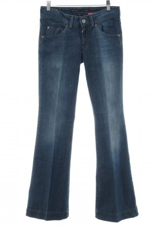 Marc O'Polo Marlenejeans stahlblau Country-Look