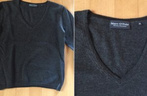 Marc O'Polo Merinowolle Pullover grau XS/S