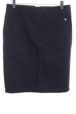 Marc O'Polo Midirock dunkelblau Casual-Look