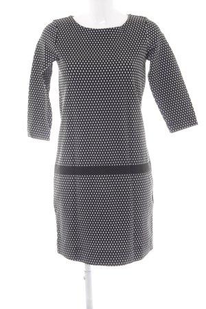 Marc O'Polo Minikleid schwarz-weiß grafisches Muster Elegant