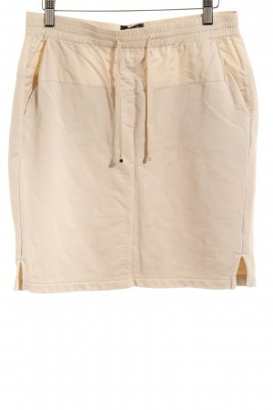 Marc O'Polo Minirock hellbeige Casual-Look
