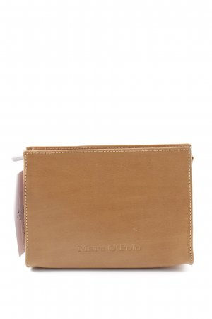 Marc O'Polo Mini Bag light brown-silver-colored simple style