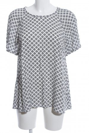Marc O'Polo Oversized Blouse white-black graphic pattern casual look