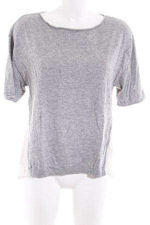 Marc O'Polo Oversized Shirt light grey-cream casual look