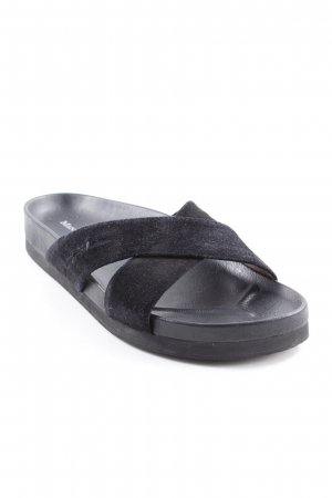 Marc O'Polo Pantuflas negro look casual